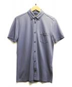BOSS HUGO BOSS(ボスヒューゴボス)の古着「半袖シャツ」|ネイビー