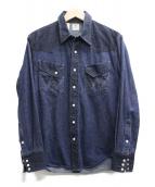 N.HOOLYWOOD×Wrangler(ミスターハリウッド×ラングラー)の古着「デニムシャツ」|インディゴ