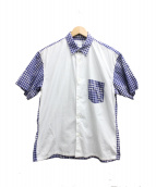 COMME des GARCONS SHIRT(コムデギャルソンシャツ)の古着「半袖ポケットシャツ」
