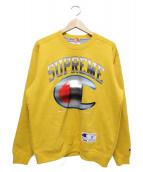 Supreme × Champion(シュプリーム×チャンピオン)の古着「クロームクルーネック」|イエロー