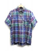 Engineered Garments(エンジニアードガーメン)の古着「プルオーバーチェックシャツ」|マルチカラー