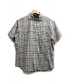 MACKINTOSH(マッキントッシュ)の古着「チェックシャツ」|ブラウン