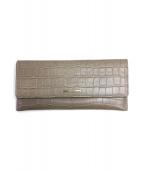 ANTEPRIMA(アンテプリマ)の古着「クロコ型押し長財布」