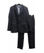 BLACK LABEL CRESTBRIDGE(ブラックレーベル クレストブリッジ)の古着「セットアップスーツ」|ブラック