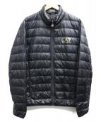 EMPORIO ARMANI EA7(エンポリオ アルマーニ イーエーセブン)の古着「ライトダウンジャケット」|ブラック