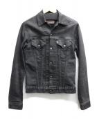 N.HOOLYWOOD×levi's(エヌハリウッド×リーバイス)の古着「後染めデニムジャケット」|ブラック