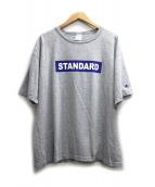 Champion(チャンピオン)の古着「プリントTシャツ」|グレー