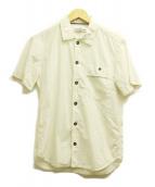 STONE ISLAND(ストーンアイランド)の古着「S/Sコットンシャツ」|ホワイト