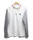 COMME des GARCONS SHIRT(コムデギャルソンシャツ)の古着「長袖ポロシャツ」|ホワイト