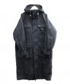JOURNAL STANDARD(ジャーナルスタンダード)の古着「高密度ウェザーBIGマウンテンパーカー」|ブラック