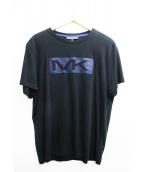 MICHAEL KORS(マイケルコース)の古着「ボックスロゴプリントTシャツ」 ブラック