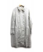 nest Robe(ネストローブ)の古着「リネン混トレンチコート」|ベージュ
