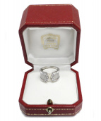 Cartier(カルティエ)の古着「C2モチーフダイヤリング」
