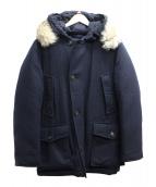 Woolrich(ウールリッチ)の古着「フーデッドダウンコート」|ネイビー