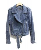 BLANK NYC(ブランク ニューヨーク)の古着「ライダースジャケット」|ネイビー