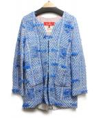 Coohem(コーヘン)の古着「ツイードジャケット」|ブルー