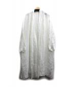 nest Robe(ネストローブ)の古着「リネントッパーコート」|ホワイト