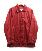 KATO(カトー)の古着「コーチジャケット」|レッド