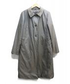 agnes b(アニエスベー)の古着「ライナー付ステンカラーコート」|グレー