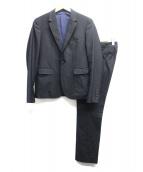 LAD MUSICIAN(ラッドミュージシャン)の古着「1Bセットアップスーツ」|ブラック