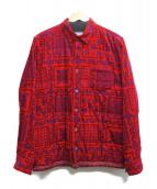 sacai(サカイ)の古着「ペイズリーコーズシャツ」|レッド