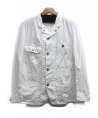 Engineered Garments(エンジニアードガーメン)の古着「Coverall Jacket」|ホワイト