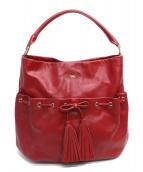 ANYA HINDMARCH(アニヤハインドマーチ)の古着「ワンショルダーバッグ」|ピンク