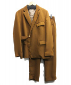 CULLNI(クルニ)の古着「セットアップスーツ」|ブラウン