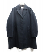 23区×RITA(ニジュウサンク×リタ)の古着「ステンカラーコート」 ブラック
