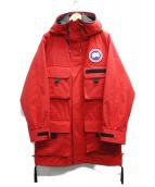 CANADA GOOSE(カナダグース)の古着「Harbour Jacket」|レッド
