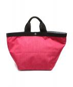 Herve Chapelier(エルベシャプリエ)の古着「船形トートバッグ」 ピンク