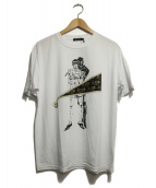 LOVELESS(ラブレス)の古着「Bruno BucciaratiコラボTシャツ」|ホワイト