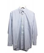 Burberrys(バーバリーズ)の古着「ボタンダウンシャツ」|ホワイト×ブルー