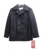 SCHOTT BROS.(ショットブロス)の古着「メルトンPコート」|ネイビー