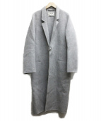Acne studios(アクネステュディオズ)の古着「foin double coat」|グレー