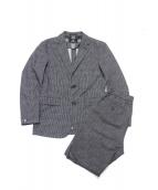 BLACK LABEL CRESTBRIDGE(ブラックレーベルクレストブリッジ)の古着「セットアップスーツ」|ブラック