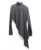 Jean Paul GAULTIER(ジャンポールゴルチェ)の古着「変形デザインワンピース」|グレー