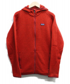 Patagonia(パタゴニア)の古着「Better Sweater Full-Zip Hoody」|レッド