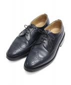 Trickers(トリッカーズ)の古着「WingTip Shoes」|ネイビー