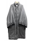 SOU・SOU(ソウソウ)の古着「鮫小紋 長陣羽織 」|グレー