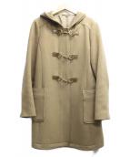 ANAYI(アナイ)の古着「フーデッドAラインコート」|ブラウン