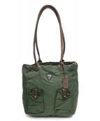 Felisi(フェリージ)の古着「ナイロントートバッグ」|グリーン