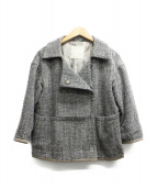 S Max Mara(エス マックスマーラ)の古着「ツイードセットアップ」|グレー