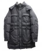 PRINGLE1815(プリングルエイティーンフィフティーン)の古着「ダウンコート」|ブラック
