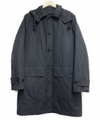 MARGARET HOWELL(マーガレットハウエル)の古着「ライナー付フーデッドコート」|ブラック