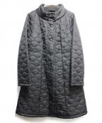Jocomomola(ホコモモラ)の古着「裏ファーキルティングコート」|ブラック