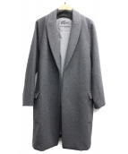 LACOSTE(ラコステ)の古着「メルトンダブルプレスコート」|グレー
