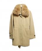 VICKY(ビッキー)の古着「ステンカラーコート」 キャメル