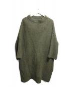 Traditional Weatherwear(トラディショナルウェザーウェア)の古着「ボトルネックニット」|グリーン