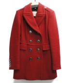 BURBERRY BRIT(バーバリーブリット)の古着「トレンチコート」|レッド